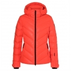 Sassy 2 D Womens Jacket in Bright Orange