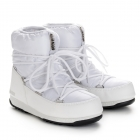 Low Nylon Winter Boot in White