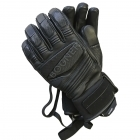 Silvio Mens Ski Glove in Black