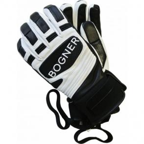 Silvio Mens Ski Glove in Off White
