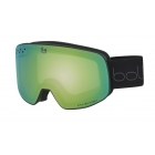 Nevada Ski Goggle in Matte Black with Phantom Green Emerald Lens