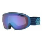 Tsar Ski Goggle in Matte Blue Patch with Aurora Lens
