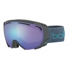 Supreme OTG Goggle in Matte Dark Grey with Blue Aurora