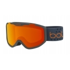 Rocket Plus Kids Ski Goggle in Matte Dark Grey With Sunrise