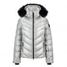 Bogner Sassy Womens Ski Jacket in Silver