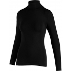Aisier Cashmere Womens Baselayer Top in Black