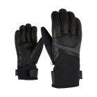 Kristall AS AW Womens Ski Glove in Black