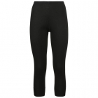 Odlo Active Warm 3/4 Pant Womens Baselayer In Black