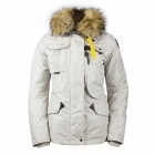 Parajumpers Denali Womens Winter Coat in Silver Grey