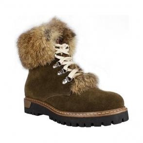 La Thuile Susten Womens Suede Winter Boot in Brown