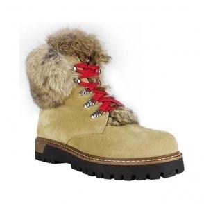 La Thuile Susten Womens Suede Winter Boot in Beige