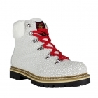 Freddo W Womens Winter Boot in Textured White