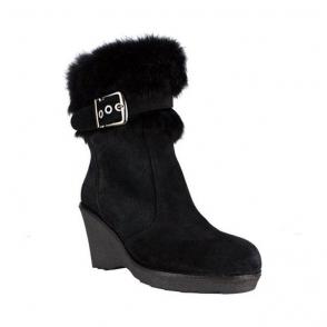 La Thuile Kuhtai Womens Winter Boot in Black