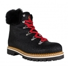 Freddo W Womens Winter Boot in Textured Black