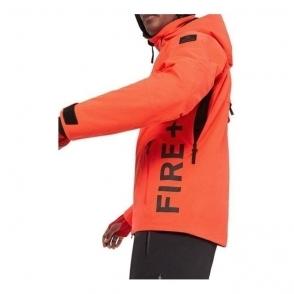Eagle Mens Jacket in Neon Orange