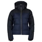 Davitta Down Womens Jacket in Dark Blue