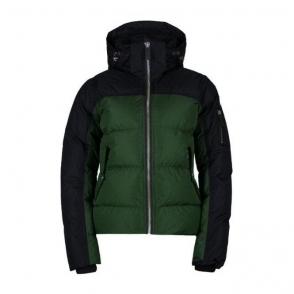 Davitta Down Womens Jacket in Green Pine