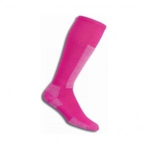 Thorlos SL Lightweight Ski Sock In Twlight Rose