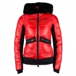 Rossignol JCC Yakima Bomber Womens Jacket in Carmin Red