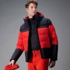 Lauzon Mens Jacket in Spicy Red