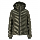 Bogner Sassy 2 Ski Jacket in Dark Green