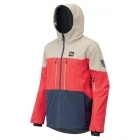Picture Object Ski Jacket in Red Dark Blue