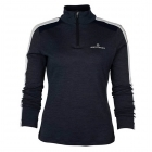 Amundsen Womens 5Mila Half Zip Midlayer in Navy