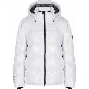 Armani EA7 Womens Ski Jacket in White