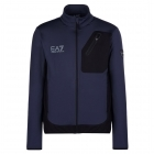 Armani EA7 Mens Full Zip Midlayer in Navy