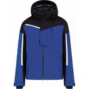 Armani EA7 Mens Ski Jacket Lapis Blue