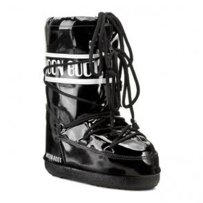 Tecnica Moon Boot Vinil Kids in Black