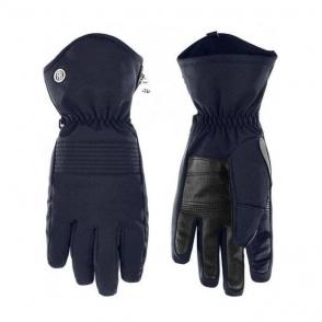 Poivre Blanc Womens Stretch Glove in Gothic Blue