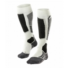 Falke SK2 Womens Ski Socks In Off White