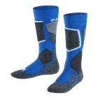 Falke SK2 Kids Ski Sock in Olympic Blue