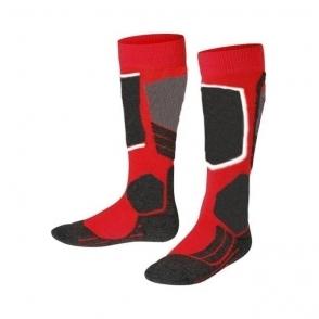 Falke SK2 Kids Ski Sock in Lipstick Red