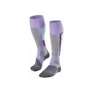 Falke SK1 Womens Ski Socks in Lavender