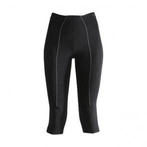 Falke Wool Tec 3/4 Tight Womens Ski Thermal in Black