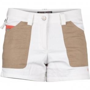 Amundsen 4Incher Denim Shorts Womens in White