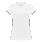 Poivre Blanc Jersey T-Shirt in White/Oxford Blue