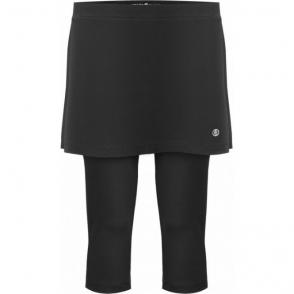 Poivre Blanc Tennis Capri Skirt Black