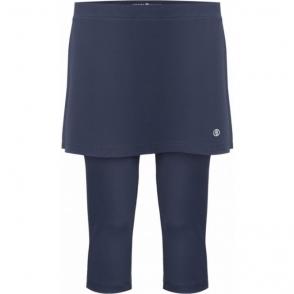 Poivre Blanc Tennis Capri Skirt in Oxford Blue