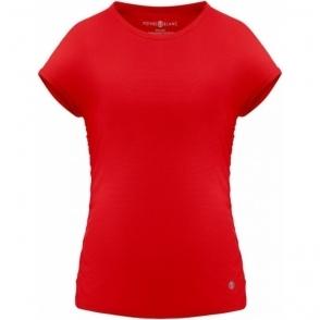 Poivre Blanc Eco Active Light T Shirt Cherry Red