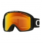 O2 XL Pro Matte Black with Fire Irdium and Persimmon Lenses