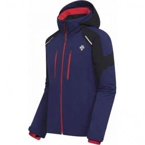 Descente Mens Slade Ski Jacket in Blue/Black/Red