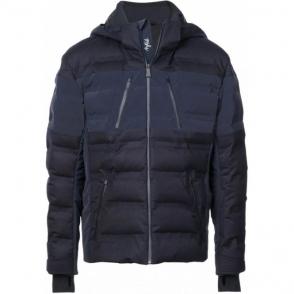 Aztech Nuke Suit Mens Ski Jacket in Wool Navy Multi