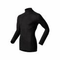 ODLO Warm L/S Shirt Turtle Neck Mens Baselayer in Black
