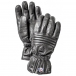 Hestra Ski Gloves Hestra Leather Swisswool Classic Ski Gloves in Black