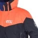 Picture Nova Mens Ski Jacket in Black And Orange