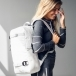 Douchebags The Scholar Backpack in Pure White
