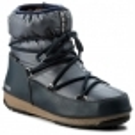 MOON BOOT Moon Boot Low Nylon Winter Boot in Denim Blue